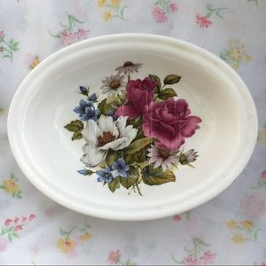 Vintage Victoria's Secret Floral Fine Bone China